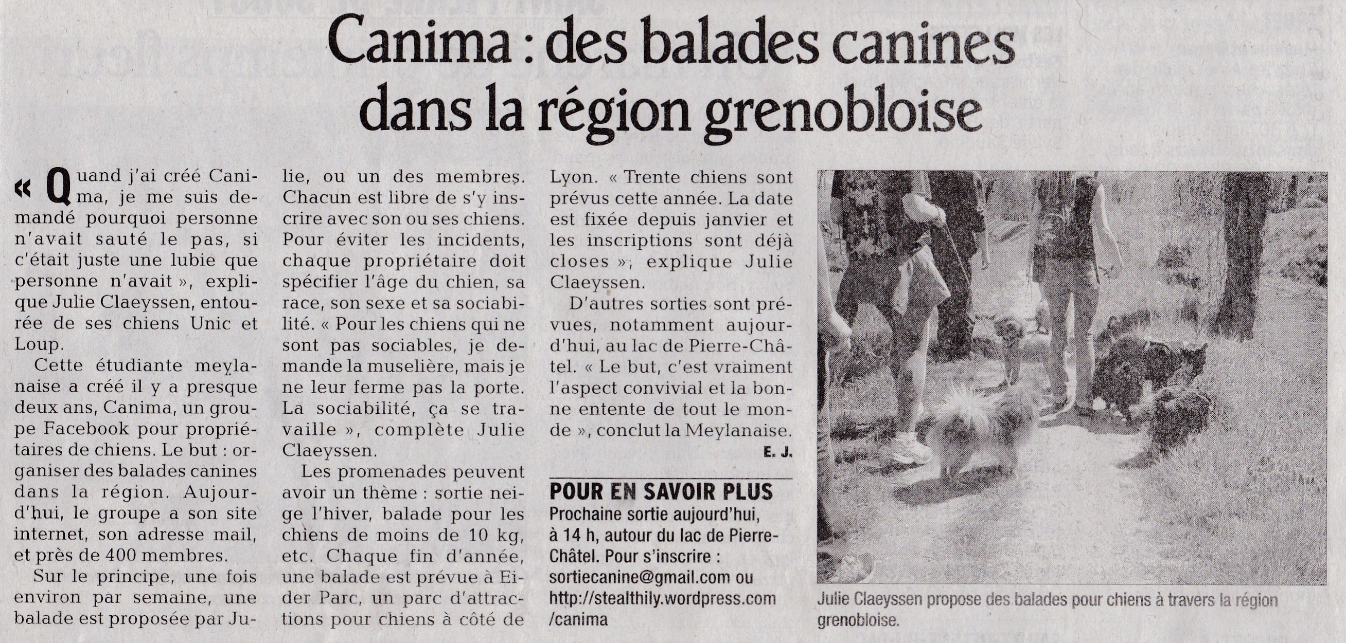 Canima - www.canima.net - Dauphiné