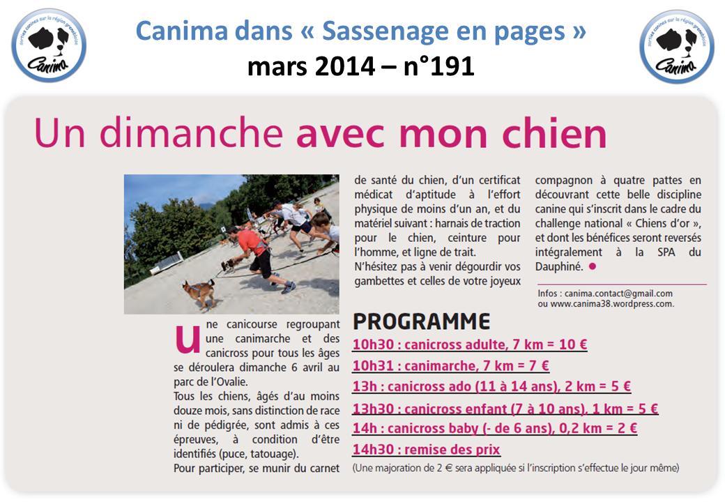 Canima - www.canima.net - Sassenage en pages